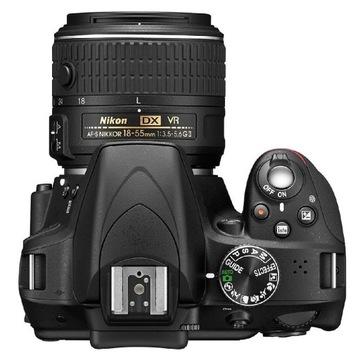 Nikon D3300 D5600 Nikkor 18-55 Nikkor 55-200  VRII