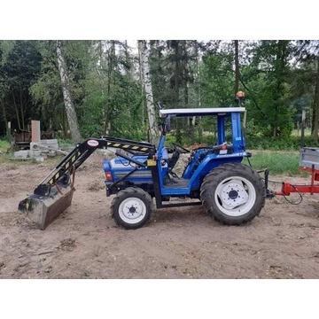 Mini traktorek Iseki ta 275a z turem