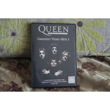 QUEEN GREATEST VIDEO HITS 1 : 2 DVD