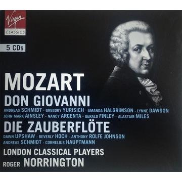 W.A. Mozart - Don Giovanni, Czarodziejski flet