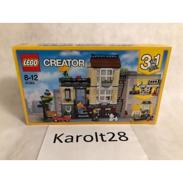 LEGO Creator 3 w 1 31065 - Dom przy ulicy Parkowej