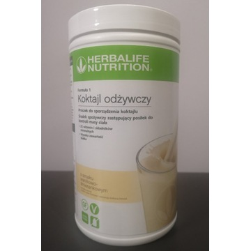 Koktajl waniliowo-śmietankowy Herbalife 780g