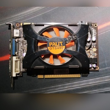 Karta graficzna GTS 450 1GB