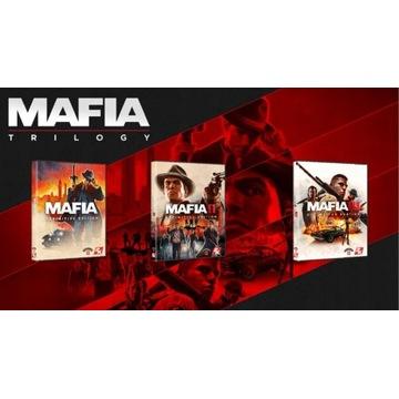 MAFIA EDYCJA OSTATECZNA 1+2+3 +DLC STEAM  PC KONTO