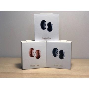 Słuchawki SAMSUNG Galaxy BUDS LIVE czarne - KRAKÓW