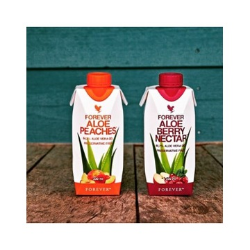 ALOES brzoskwiniowy 330ml Forever