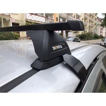 TAURUS stopy CarryUP + belki aluminiowe prostokątn