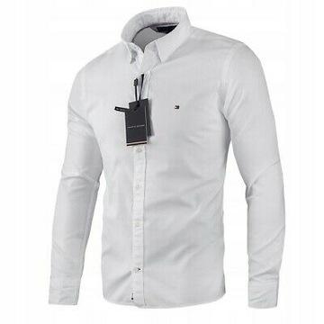 TOMMY HILFIGER Meska koszula r. XXL biała
