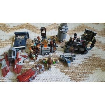 Klocki LEGO Star Wars zestaw 24 figurki Vader Obi