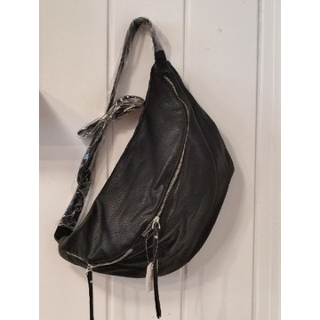Nowa duża torebka nerka torba damska eko-skóra