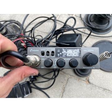 Zestaw CB radio Stabo XM 3001e anteny głośnik