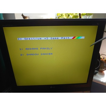 ZX SPECTRUM 128 K + 3 DYSKIETKA GRY