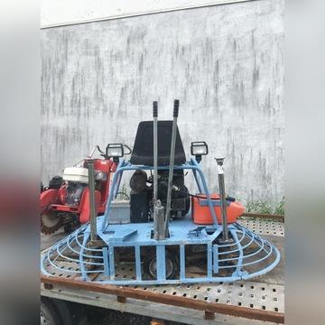 Zacieraczka do betonu samojezdna 2x90cm, 25kM
