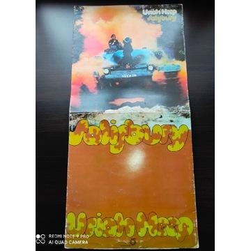 Uriah Heep płyta winylowa 1971 rok stan Vg metal