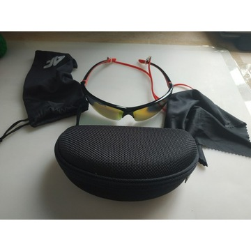Okulary, rowerowe, polaryzacyjne 4F