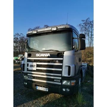 Scania 124/400 , hakowiec