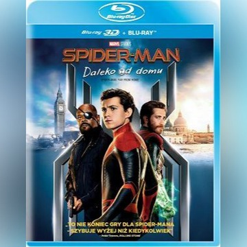 SPIDER-MAN daleko od domu tylko płyta 3D blu-ray