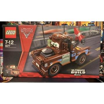 Lego 8677 Disney Pixar Cars 2 Agent Hook