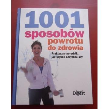Reader's Digest 1001 sposobów powrotu do zdrowia
