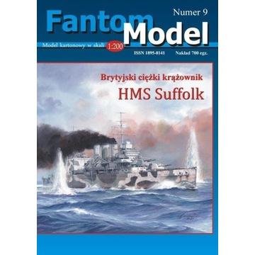 Nowość! Model kartonowy HMS Suffolk 1:200