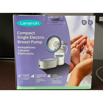Kompaktowy Laktator elektryczny Lansinoh