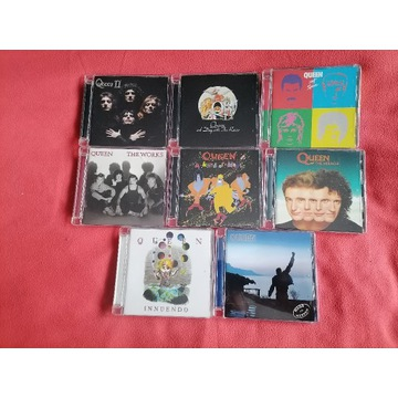 Queen - Innuendo, The Works, Miracle, Hot 8CD