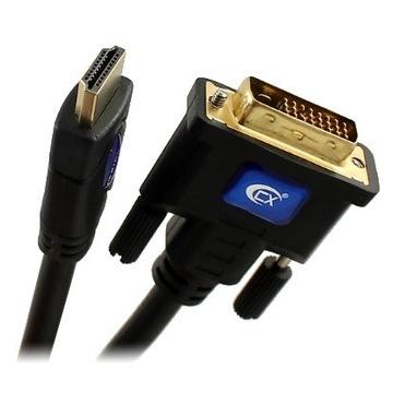Kabel HDMI 2.0 4K DVI 24+1 Dual Link CX-HD203 3m