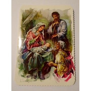 Kartka Boże Narodzenie religijna