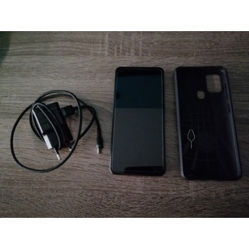 Piękny Samsung Galaxy A21s +etui, szkło, ładowarka