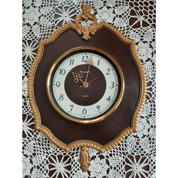 """Rosyjski zegar ścienny """"Jantar"""" CCCP"""