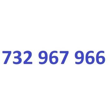 732 967 966 starter play ładny złoty numer