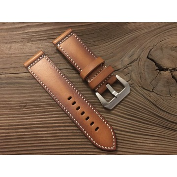 Pasek do zegarka Panerai handmade skórzany 24 mm