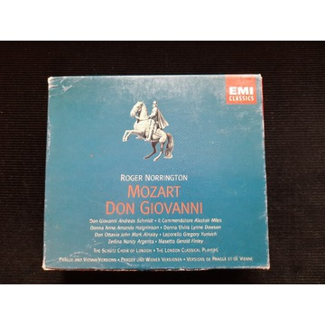 MOZART Don Giovanni Norrington EMI Okazja