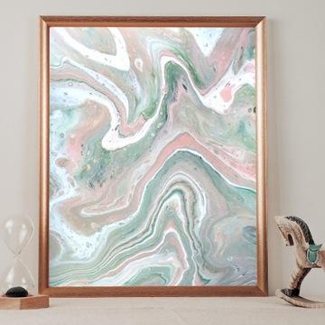 Obraz nowoczesny do salonu 40x50 cm na ścianę