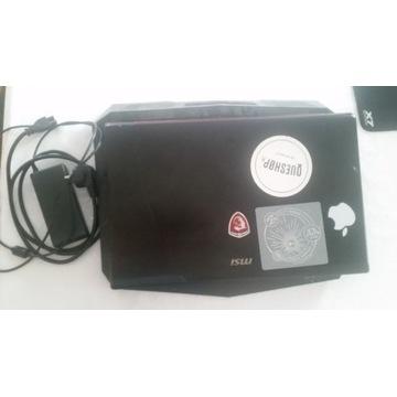MSI gl72 GTX 2G SSD240gb 7sek.START 8Gb Wysyłam