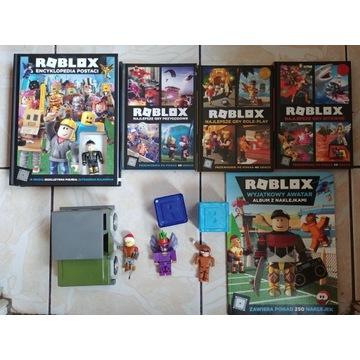 zestaw ROBLOX - 4 figurki, auto, 4 książki +gratis