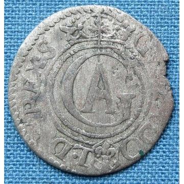 Gustaw Adolf, szeląg ryski 1626, ładny
