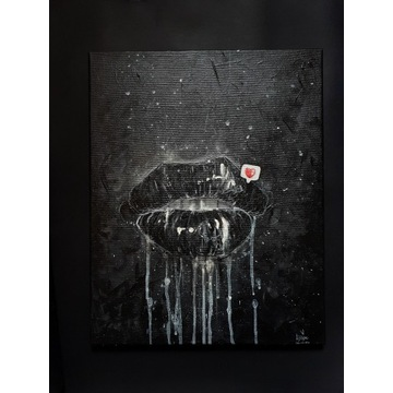 "Obraz - Alexowo ""Complicated"" 40x50cm, surreal"
