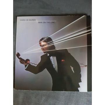 Chris de Burgh -Man of The Line lp vinyl