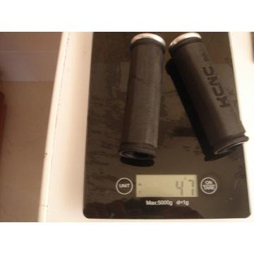 KCNC Chwyty gripy Eva Lock-On 47 gram lekkie