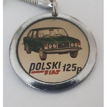 Breloczek Polski Fiat 125p