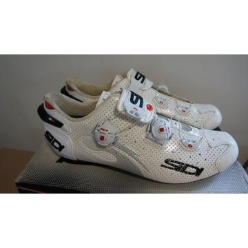 Buty szosowe Sidi WIRE carbon  AIR białe 43 27,5