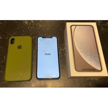 iPhone XR 256 GB Biały - zbita szybka