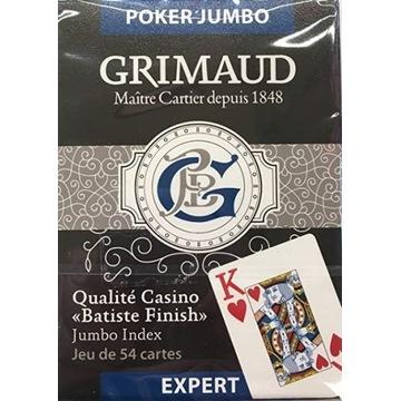 KARTY DO GRY GRIMAUD Poker Jumbo 54