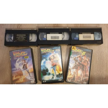 Back To The Future ITI Komplet VHS