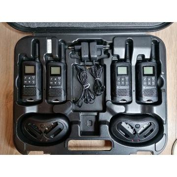 Zestaw Motorola TLKR T61 w oryginalnej walizce.