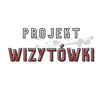 PROJEKT WIZYTÓWKI / WIZYTÓWKA dwustronna do 12H!