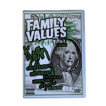 FAMILY VALUES TOUR 2006 DVD Korn Deftones Flyleaf