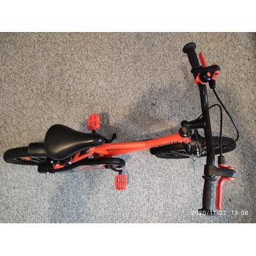 """Rower Decathlon 16"""" Robot 500 dla dzieci"""
