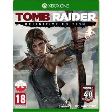 Tom Raider - Definitive Edytion (Xbox One)